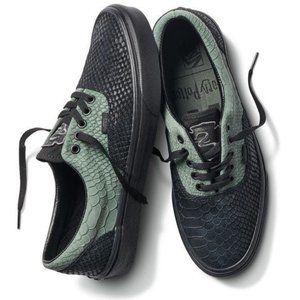 New! VANS x Harry Potter Era Shoes Slytherin House